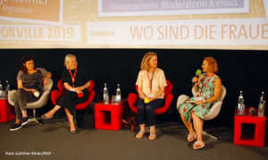 Frauenpanel am 2. DOKVILLE Tag 2019 (Foto: Günther Ahner/HDF)