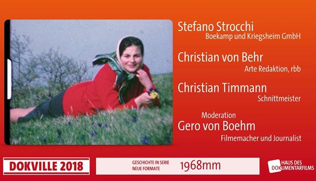 """DOKVILLE 2018: Plakat zu """"1968mm"""" (© HDF)"""