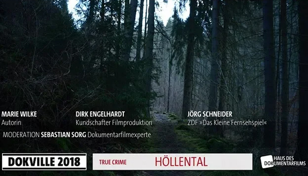 """DOKVILLE 2018: Plakat zu """"Höllental"""" (© HDF)"""