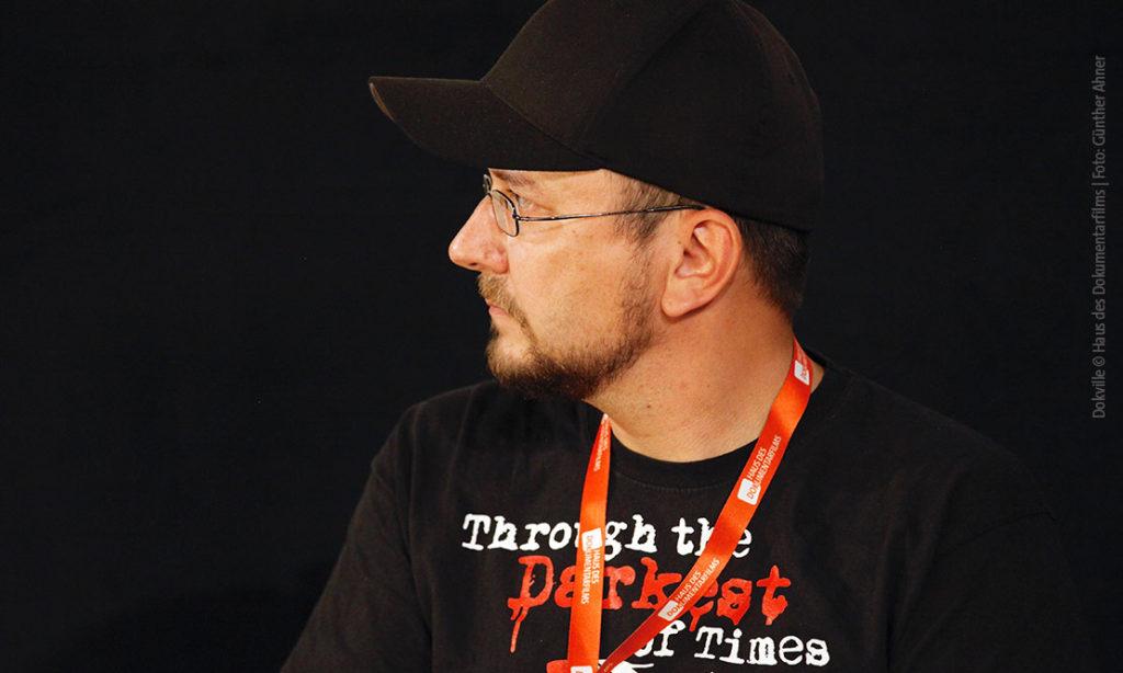 Sebastian Schulz von Paintbucket Games bei Dokville 2019