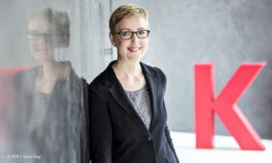 Philosophisches Corona-Tagebuch: Foto der Leiterin Kulturzeit Anja Fix (© ZDF/Jana Kay)